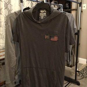 American rag hoodie